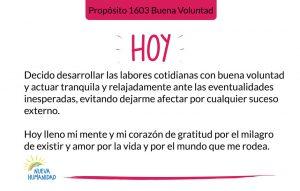 Propósito 1603 Buena Voluntad