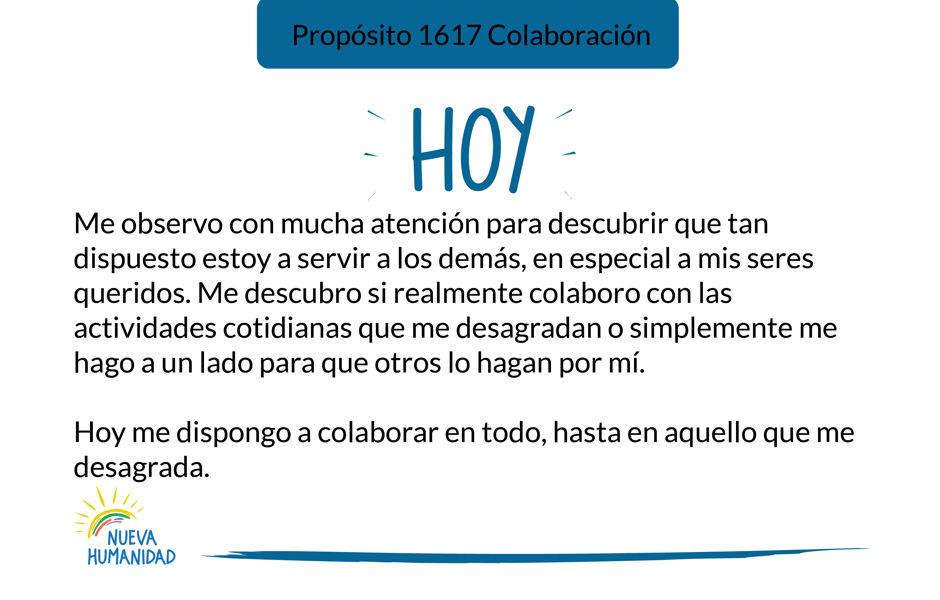 Propósito 1617 Colaboración