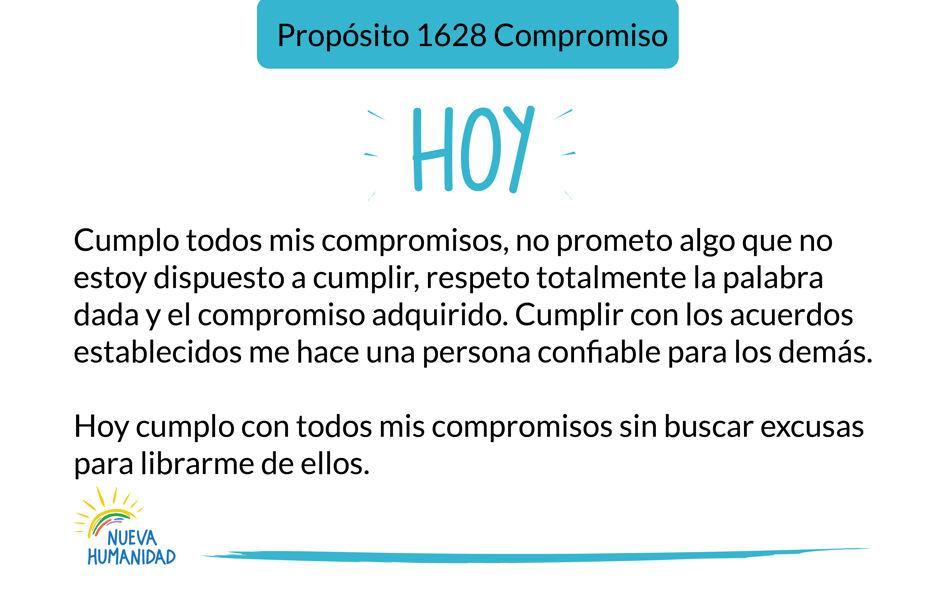 Propósito 1628 Compromiso