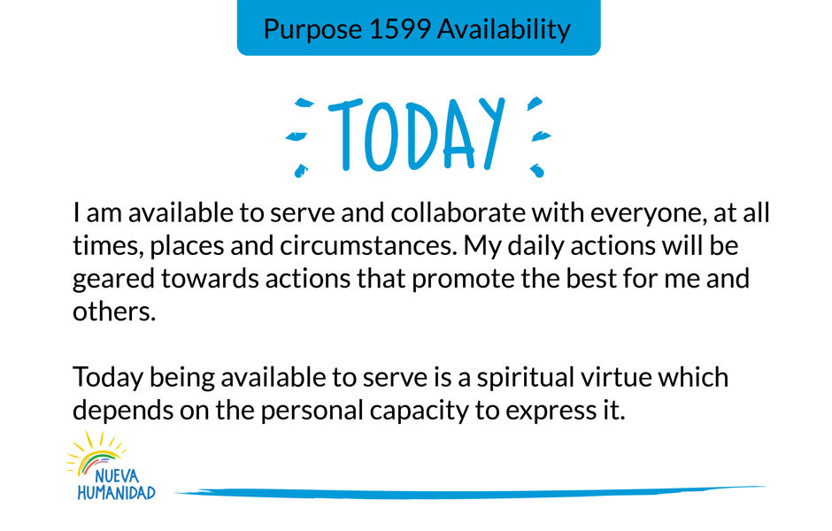 Purpose 1599 Availability