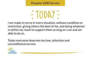 Purpose 1600 Service