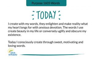 Purpose 1605 Words