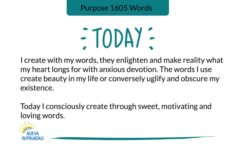 Purpose 1605 Words
