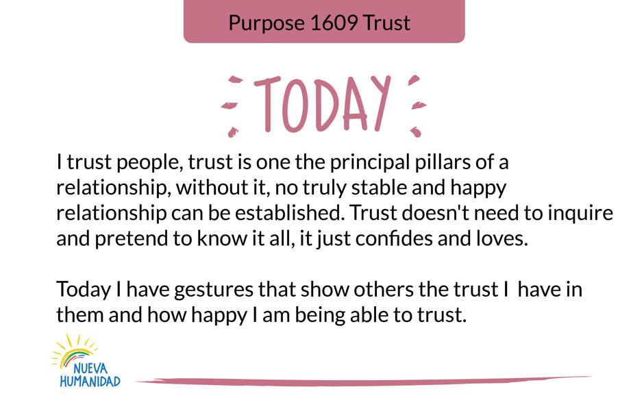 Purpose 1609 Trust