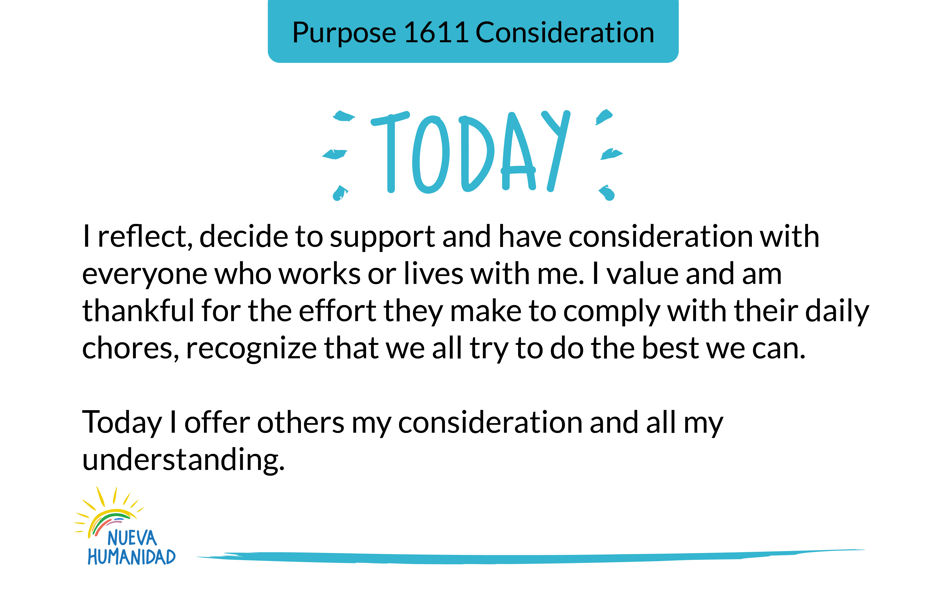 Purpose 1611 Consideration