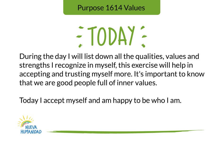 Purpose 1614 Values