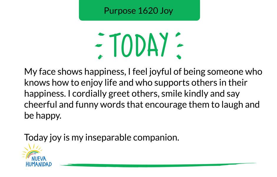 Purpose 1620 Joy