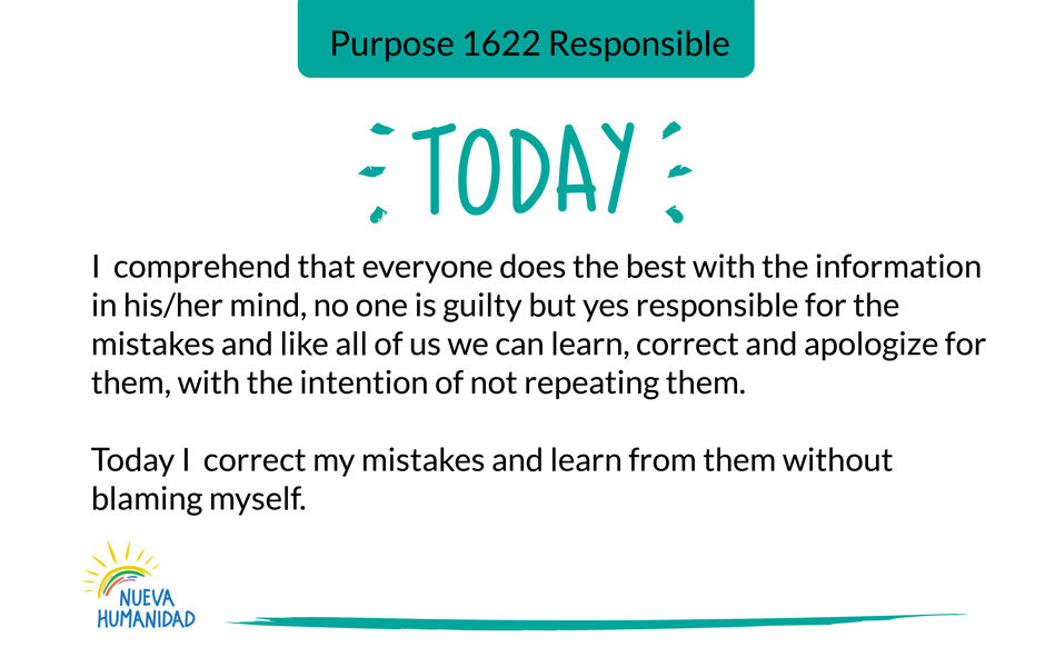 Purpose 1622 Responsible