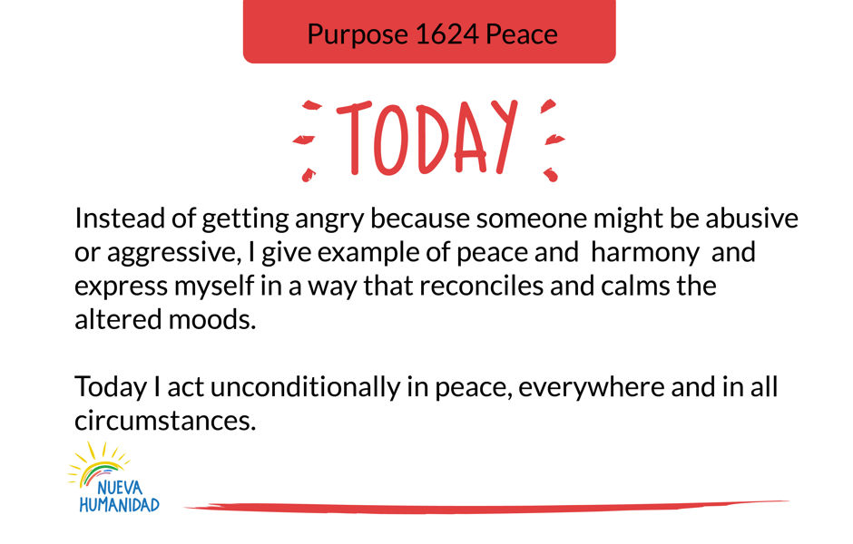 Purpose 1624 Peace