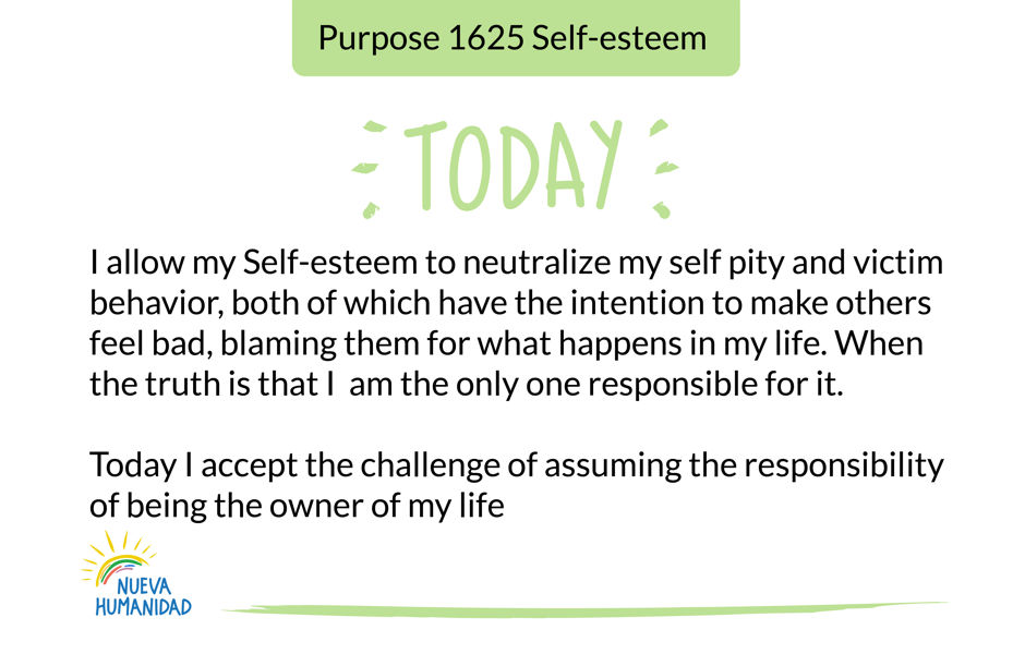 Purpose 1625 Self-esteem