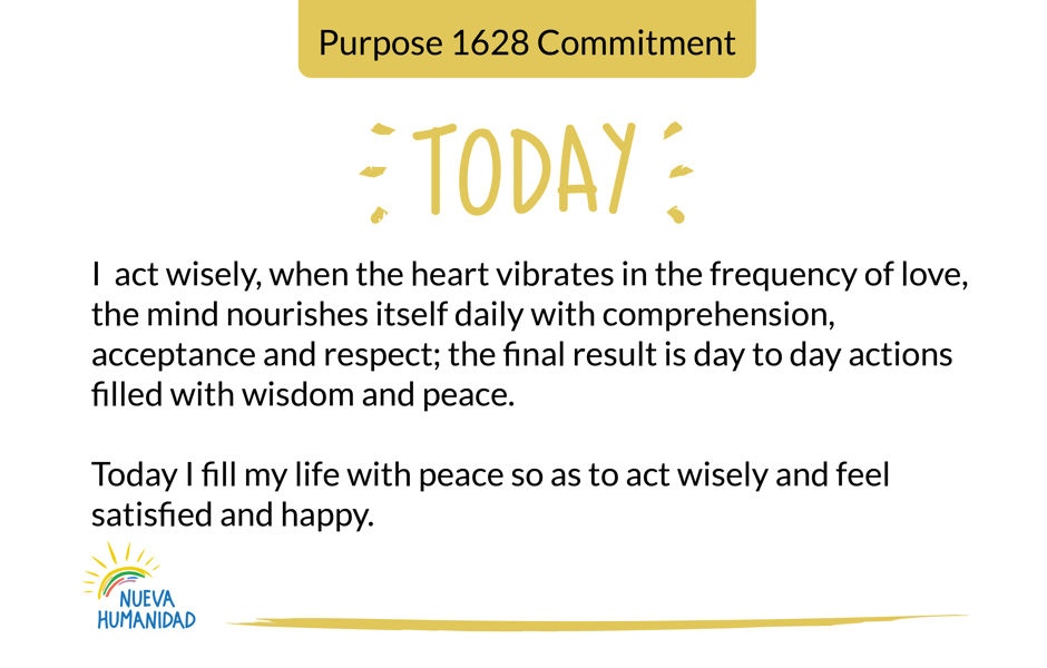 Purpose 1629 Wisdom