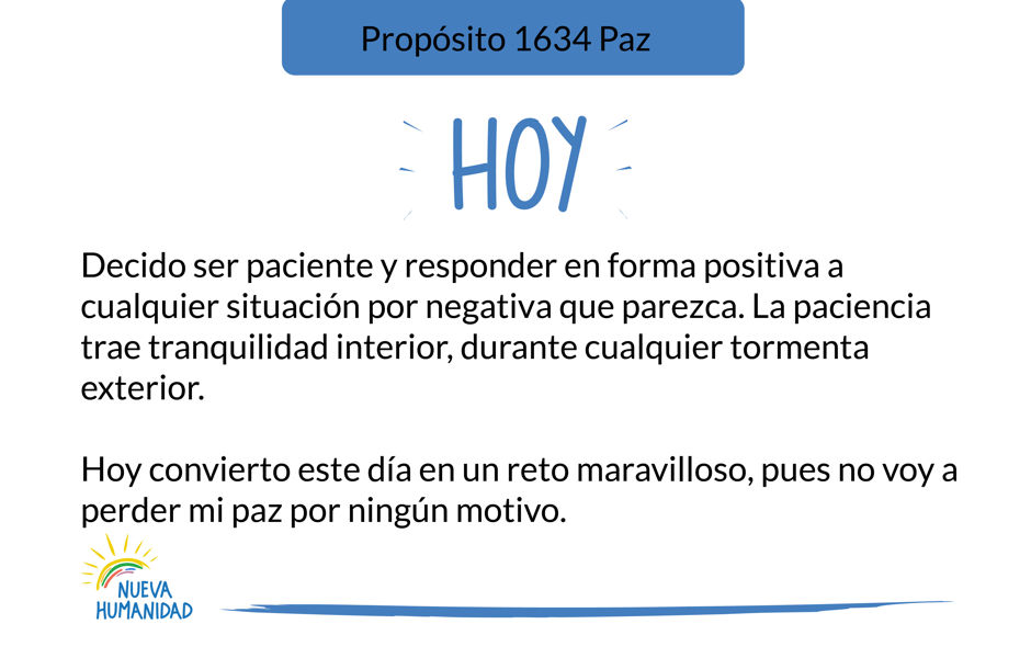 Propósito 1634 Paz