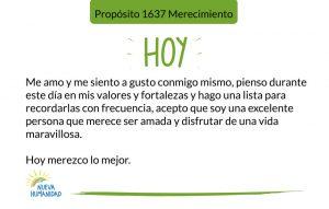 Propósito 1637 Merecimiento