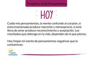 Propósito 1638 Pensamientos