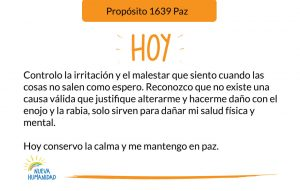 Propósito 1639 Paz