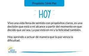Propósito 1646 Paz