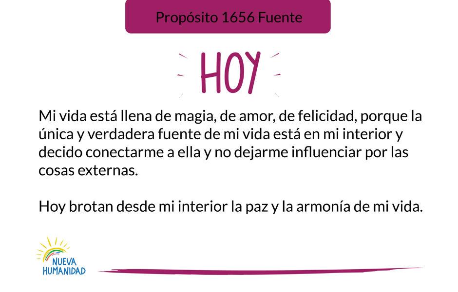 Propósito 1656 Fuente
