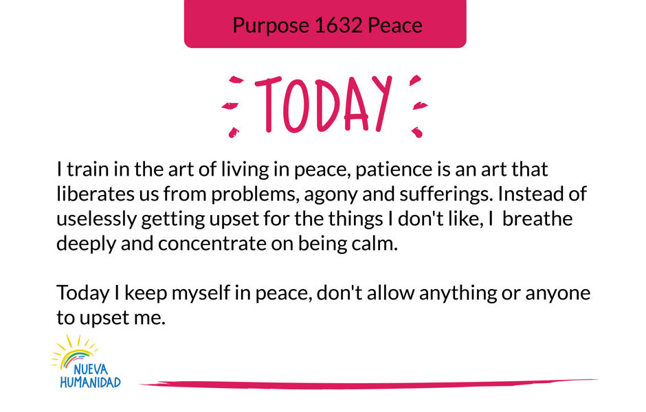 Purpose 1632 Peace