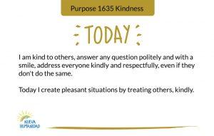 Purpose 1635 Kindness