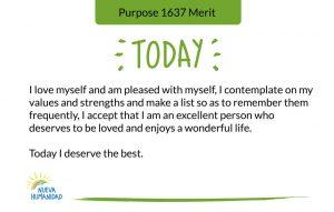 Purpose 1637 Merit