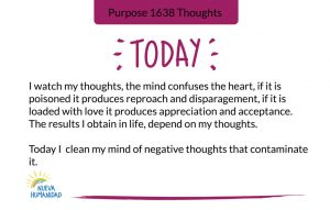 Purpose 1638 Thoughts