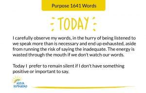 Purpose 1641 Words