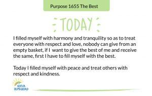 Purpose 1655 The Best