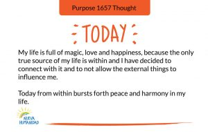 Purpose 1657 Thought