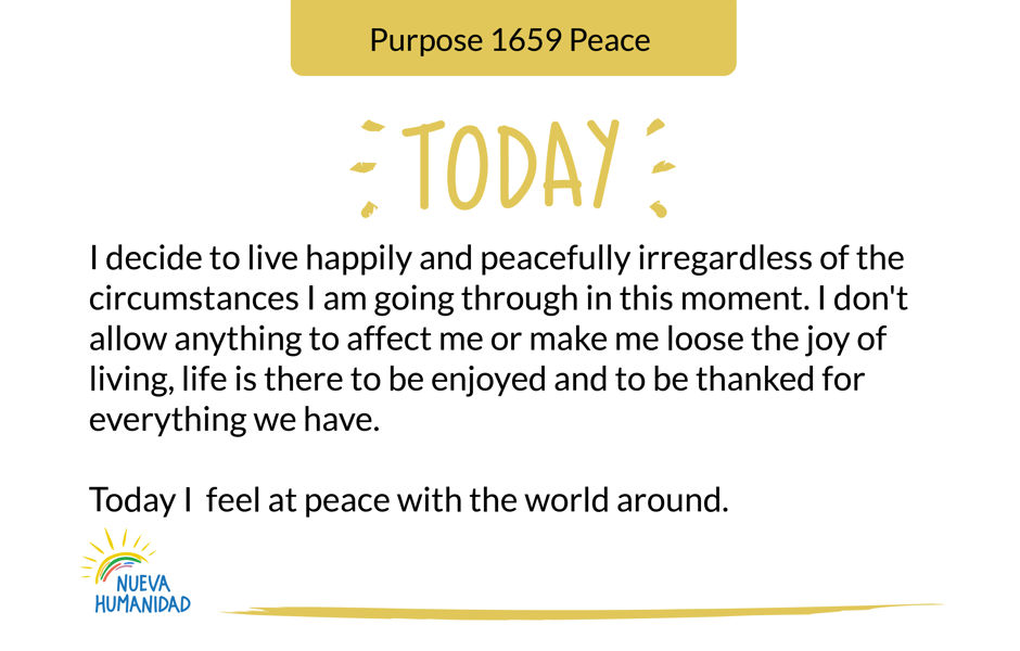 Purpose 1659 Peace