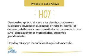 Propósito 1665 Apoyo