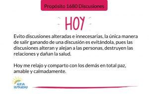 Propósito 1680 Discusiones