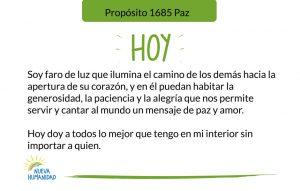 Propósito 1685 Paz