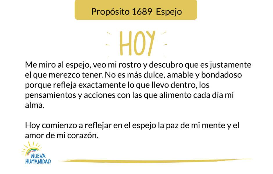 Propósito 1689  Espejo