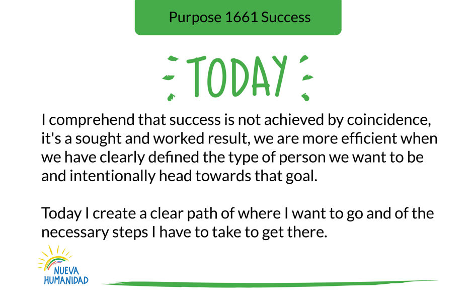 Purpose 1661 Success