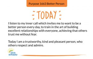 Purpose 1663 Better Person