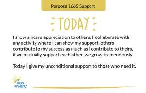 Purpose 1665 Support