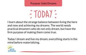 Purpose 1666 Dreams