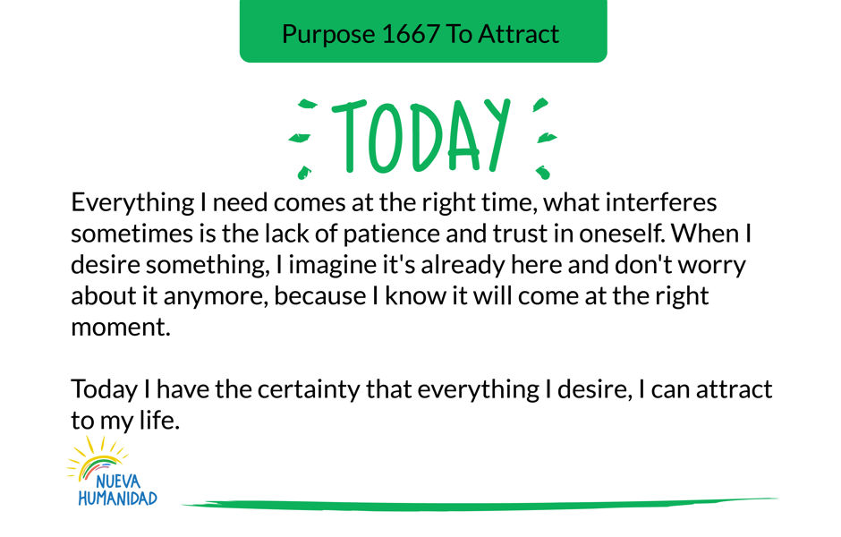 Purpose 1667 To Attract