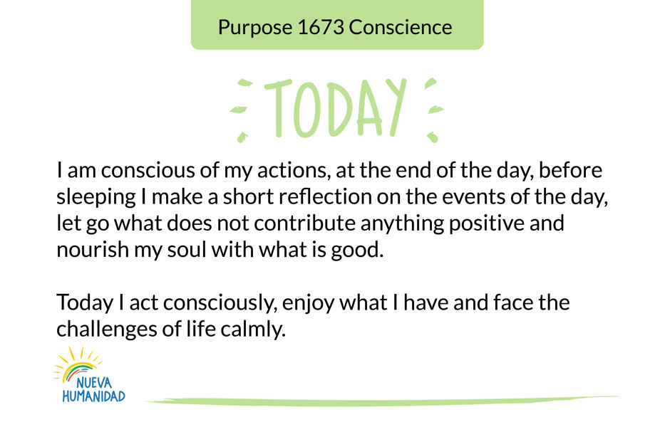 Purpose 1673 Conscience