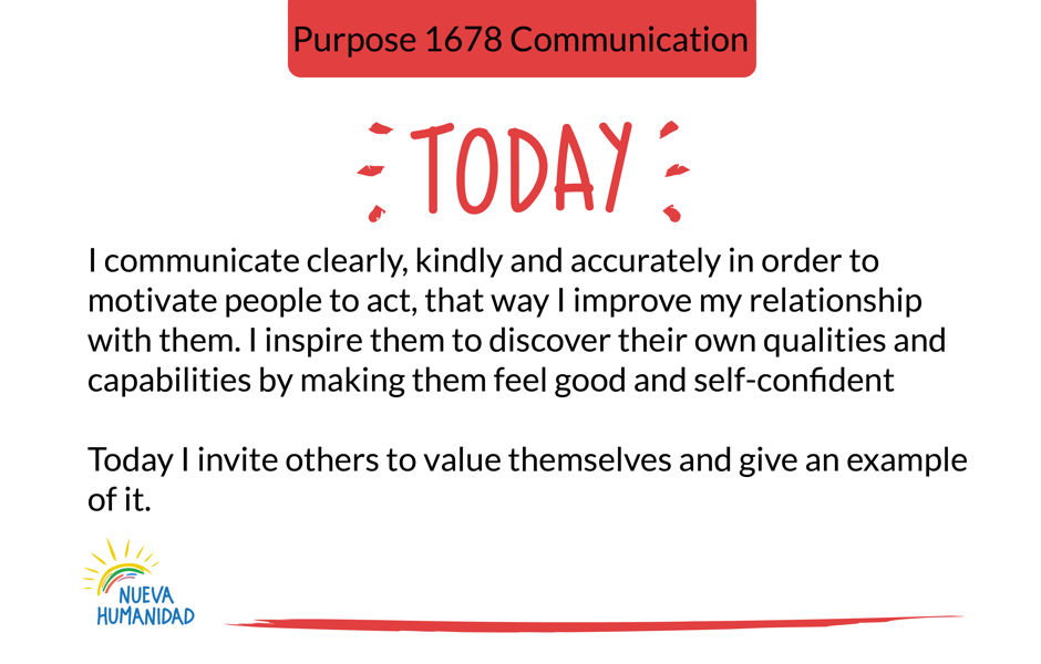 Purpose 1678 Communication