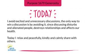 Purpose 1680 Discussions