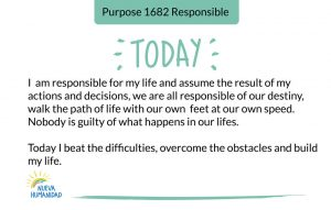 Purpose 1682 Responsible