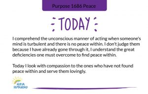 Purpose 1686 Peace