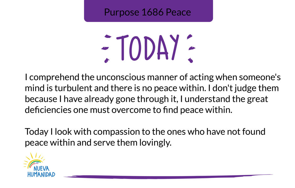 Purpose 1686 Peace
