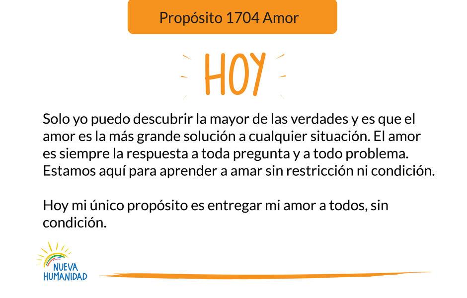 Propósito 1704 Amor