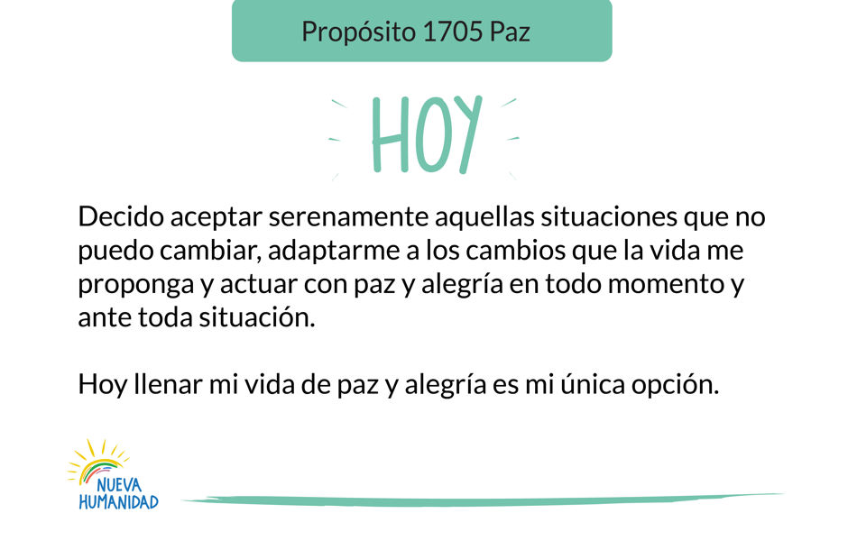 Propósito 1705 Paz