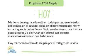 Propósito 1708 Alegría