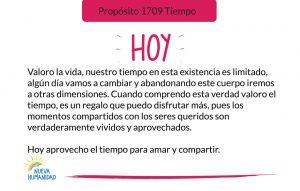 Propósito 1709 Tiempo
