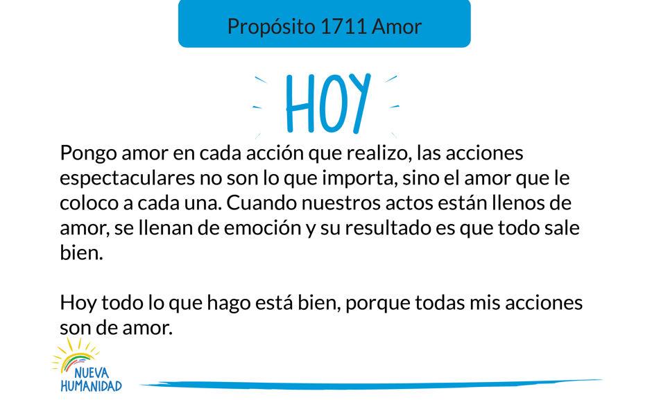 Propósito 1711 Amor