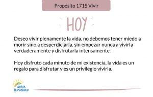 Propósito 1715 Vivir